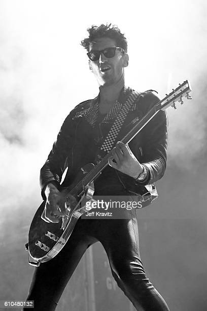 Recording artist David Macklovitch of Chromeo performs onstage during day 3 of the 2016 Life Is Beautiful festival on September 25 2016 in Las Vegas...