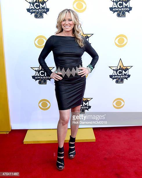 Recording artist Deana Carter attends the 50th Academy of Country Music Awards at ATT Stadium on April 19 2015 in Arlington Texas