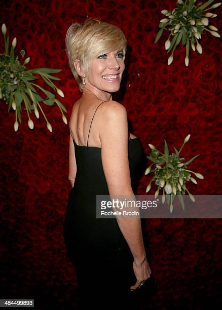 Recording artist Debby Boone attends the VIP Red Carpet Suite hosted by Ketel One Vodka at the 25th Annual GLAAD Media Awards on April 12 2014 in...