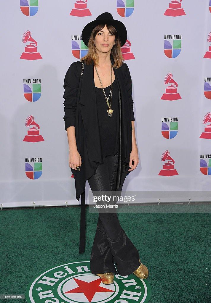 Recording artist Deborah de Corral arrives at the 13th annual Latin GRAMMY Awards held at the Mandalay Bay Events Center on November 15, 2012 in Las Vegas, Nevada.