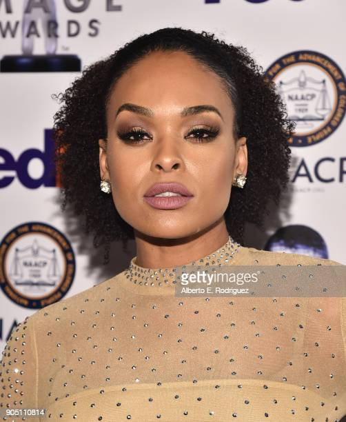 Recording artist Demetria McKinney attends the 49th NAACP Image Awards NonTelevised Award Show at The Pasadena Civic Auditorium on January 14 2018 in...