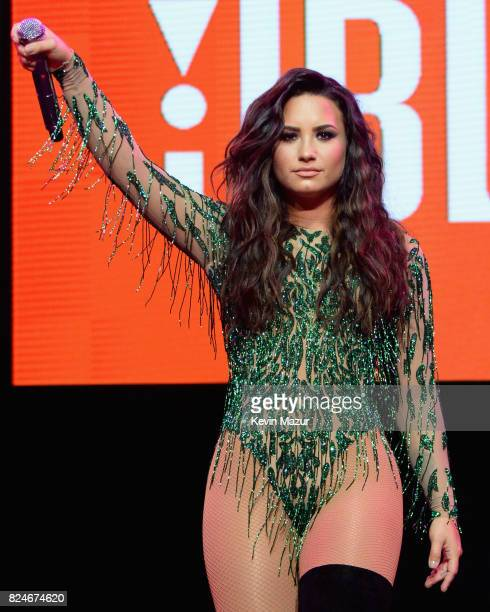 Recording artist Demi Lovato performs at JBL Fest an exclusive three day music experience hosted by JBL at The Joint inside the Hard Rock Hotel...