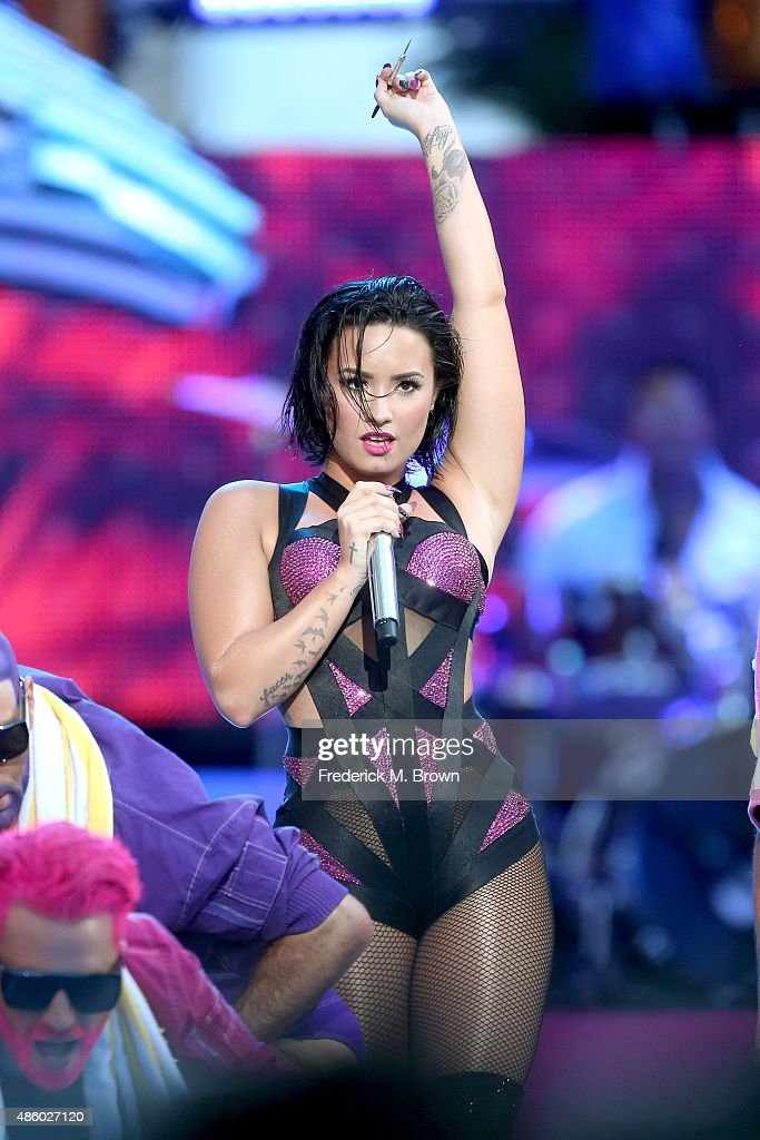 2015 MTV Video Music Awards - Pepsi Stage - Fixed Show : News Photo