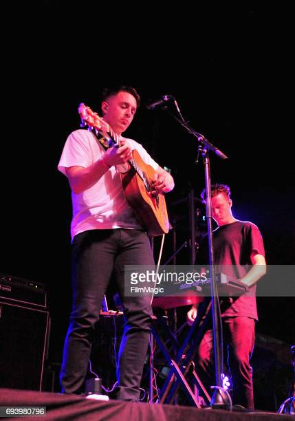 Recording artist Dermot Kennedy performs onstage at Who Stage during Day 1 of the 2017 Bonnaroo Arts And Music Festival on June 8 2017 in Manchester...