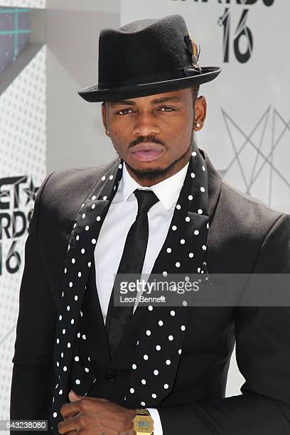 Recording artist Diamond Platnumz attends the Make A Wish VIP Experience at the 2016 BET Awards on June 26 2016 in Los Angeles California