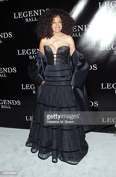 Recording artist Diana Ross attends Oprah Winfrey's Legends Ball at the Bacara Resort and Spa on May 14 2005 in Santa Barbara California