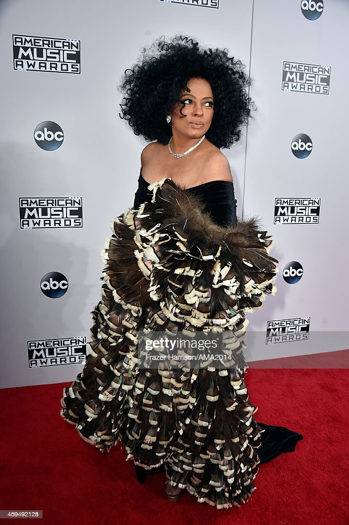 2014 American Music Awards - Red Carpet : News Photo