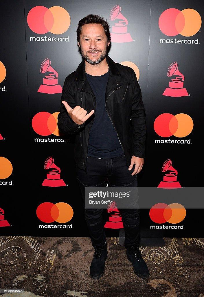 The 17th Annual Latin Grammy Awards - Mastercard Meet & Greet