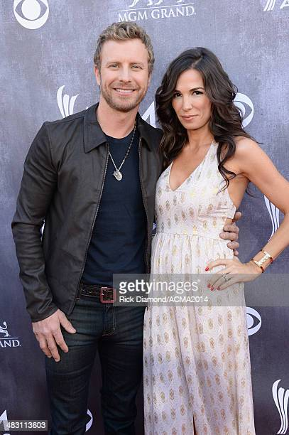 Recording artist Dierks Bentley and Cassidy Black attend the 49th Annual Academy of Country Music Awards at the MGM Grand Garden Arena on April 6...