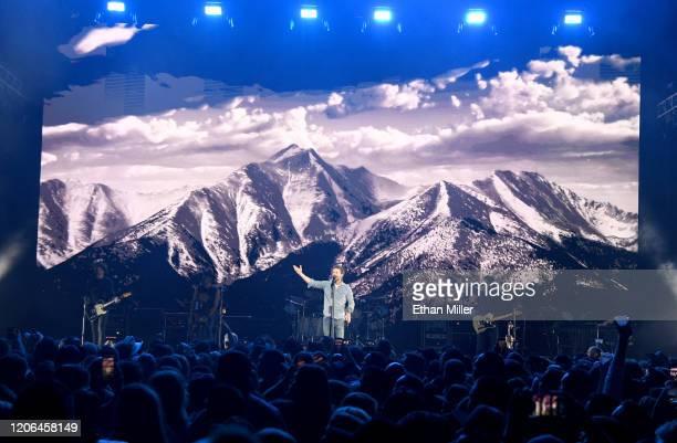 Recording artist Dierks Bentley performs at The Chelsea at The Cosmopolitan of Las Vegas on February 14 2020 in Las Vegas Nevada