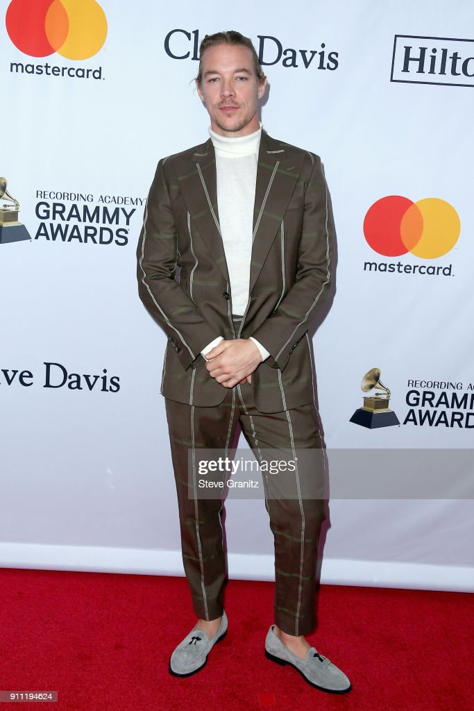 Recording artist Diplo attends the Clive Davis and Recording Academy Pre-GRAMMY Gala and GRAMMY Salute to Industry Icons Honoring Jay-Z on January 27, 2018 in New York City.