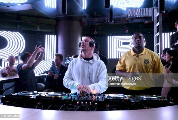 Recording artist Diplo performs during HQ2 Opening Night at Ocean Resort Casino on June 29, 2018 in Atlantic City, New Jersey.