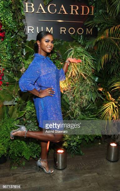 Recording artist DJ Brittany Sky attends the Bacardi Premium Launch at The DL on May 10 2018 in New York City
