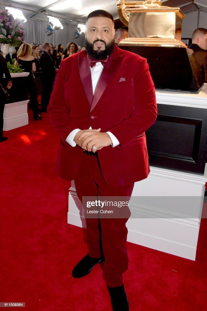 Recording artist DJ Khaled attends the 60th Annual GRAMMY Awards at Madison Square Garden on January 28, 2018 in New York City.
