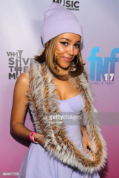 Recording artist Doja Cat arrives at the Friends 'N' Family 17th Annual PreGRAMMY Party at Park Plaza Hotel on January 24 2014 in Los Angeles...