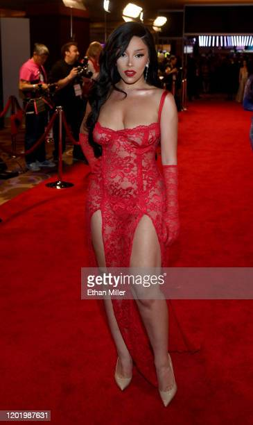 Recording artist Doja Cat attends the 2020 Adult Video News Awards at The Joint inside the Hard Rock Hotel & Casino on January 25, 2020 in Las Vegas,...