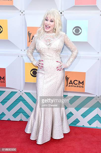 Recording artist Dolly Parton attends the 51st Academy of Country Music Awards at MGM Grand Garden Arena on April 3 2016 in Las Vegas Nevada