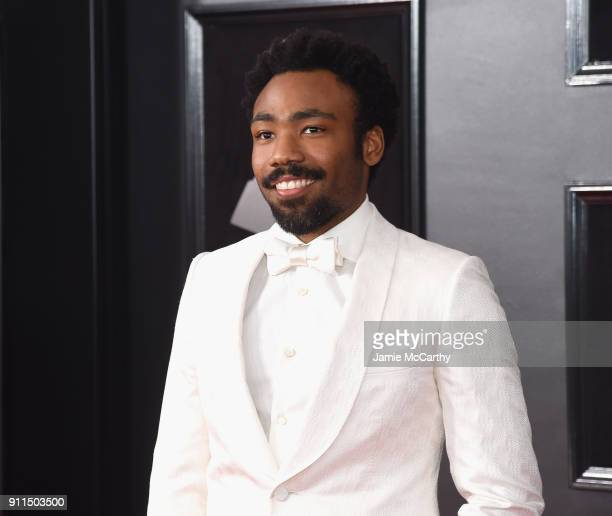 Recording artist Donald Glover aka Childish Gambino attends the 60th Annual GRAMMY Awards at Madison Square Garden on January 28, 2018 in New York...