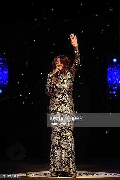 Recording artist Dorinda Clark Cole performs onstage at Your Dream Is Out There Gospel Sensations at Buckhead Theatre on January 9 2015 in Atlanta...