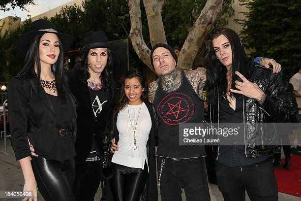 Recording artist Dorothy Martin vocalist Michael 'Vampire' Orlando of Vampires Everywhere adult film star Lupe Fuentes musician Evan Seinfeld and...