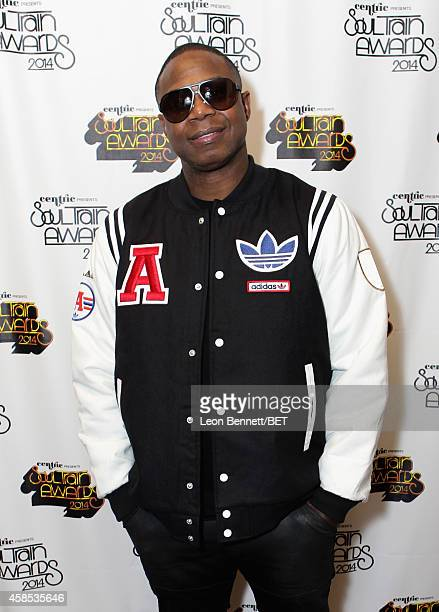 Recording artist Doug E Fresh attends day 1 of the 2014 Soul Train Music Awards Gifting Suite at the Orleans Arena on November 6 2014 in Las Vegas...
