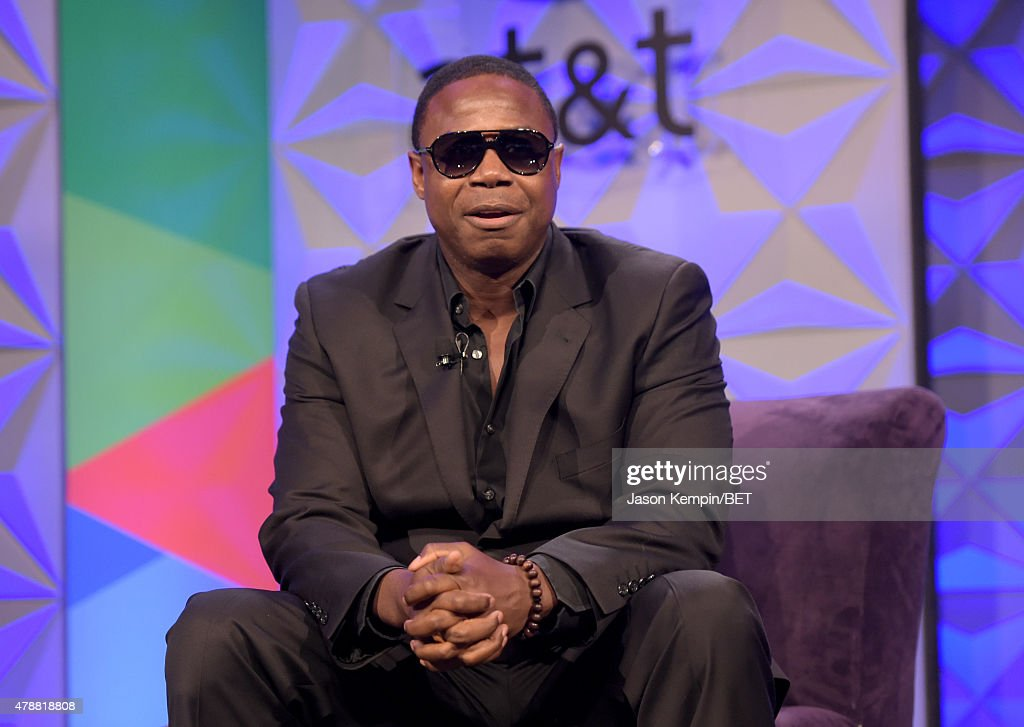 Recording artist Doug E. Fresh speaks onstage during the Genius Talks presented by AT&T during the 2015 BET Experience at the Los Angeles Convention Center on June 27, 2015 in Los Angeles, California.