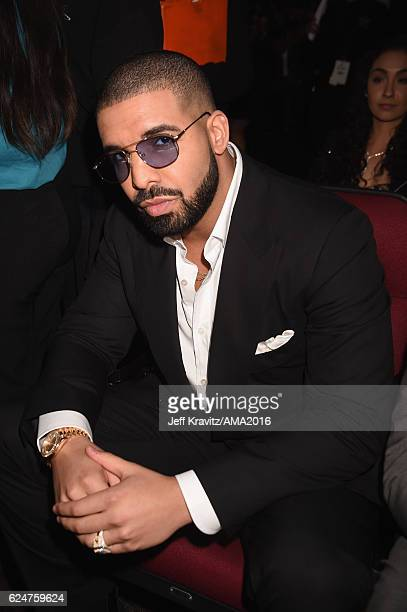 Recording artist Drake attends the 2016 American Music Awards at Microsoft Theater on November 20 2016 in Los Angeles California