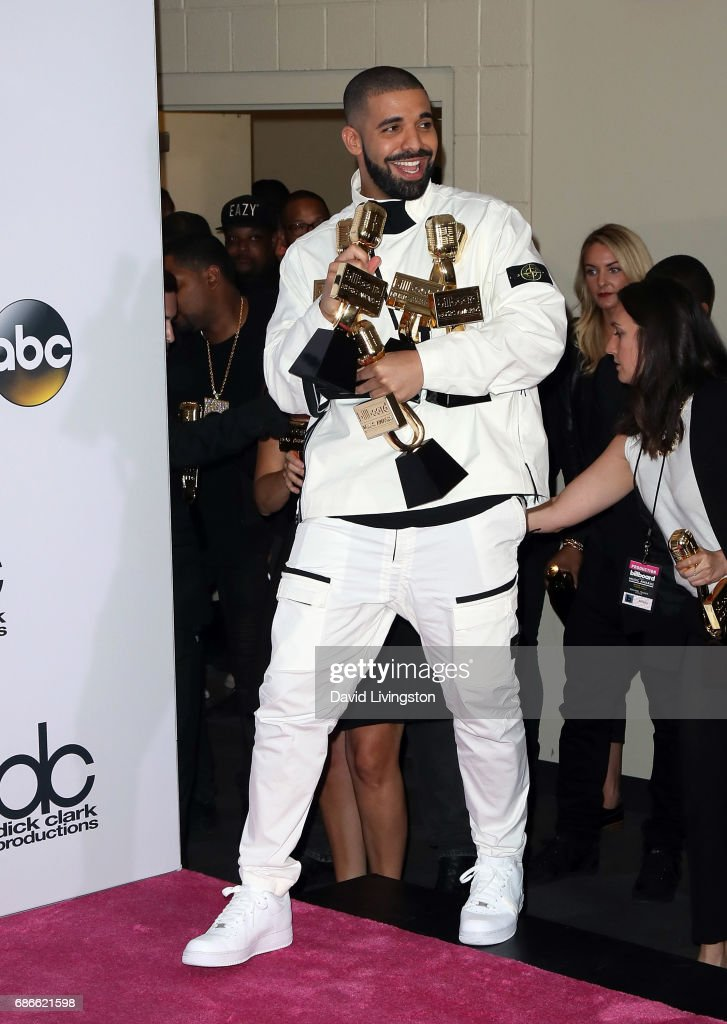 Recording artist Drake attends the press room at the 2017 Billboard Music Awards at T-Mobile Arena on May 21, 2017 in Las Vegas, Nevada.