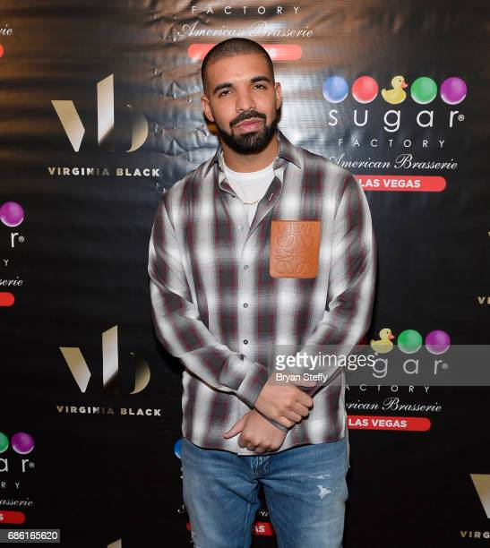 Recording artist Drake Virginia Black Whiskey and Sugar Factory American Brasserie debuts 'Night Owl' goblet at Sugar Factory American Brasserie at...