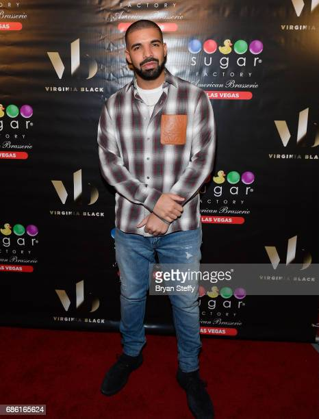 Recording artist Drake Virginia Black Whiskey and Sugar Factory American Brasserie debuts Night Owl goblet at Sugar Factory American Brasserie at the...