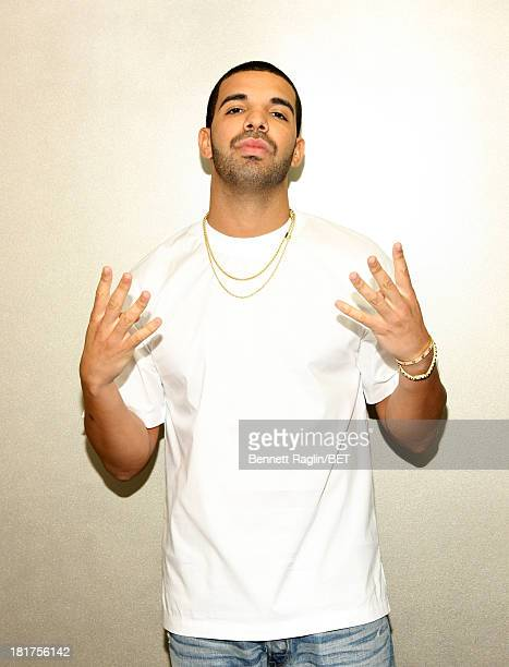 Recording artist Drake visits 106 Park at 106 Park Studio on September 23 2013 in New York City