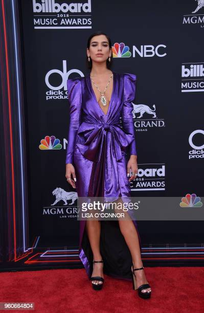 Recording artist Dua Lipa attends the 2018 Billboard Music Awards 2018 at the MGM Grand Resort International on May 20 in Las Vegas Nevada