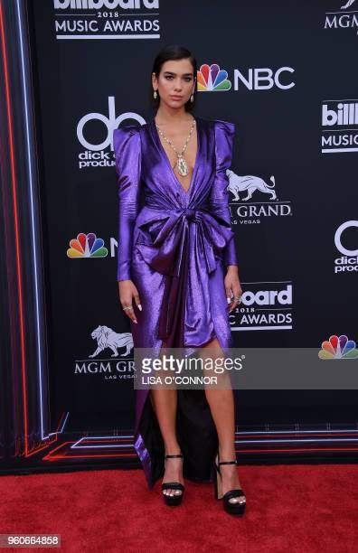 Recording artist Dua Lipa attends the 2018 Billboard Music Awards 2018 at the MGM Grand Resort International on May 20 in Las Vegas Nevada