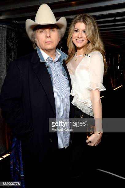 Recording artist Dwight Yoakam and Emily Joyce attend The 59th GRAMMY Awards at STAPLES Center on February 12 2017 in Los Angeles California