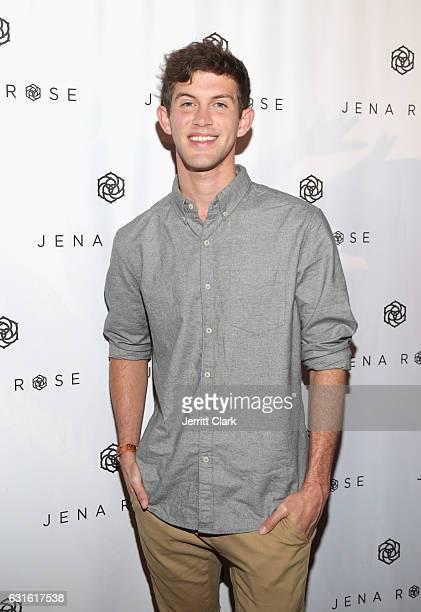 Recording Artist Dylan Bernard attends Singer Jena Rose's Birthday Celebration At Bardot on January 12 2017 in Hollywood California