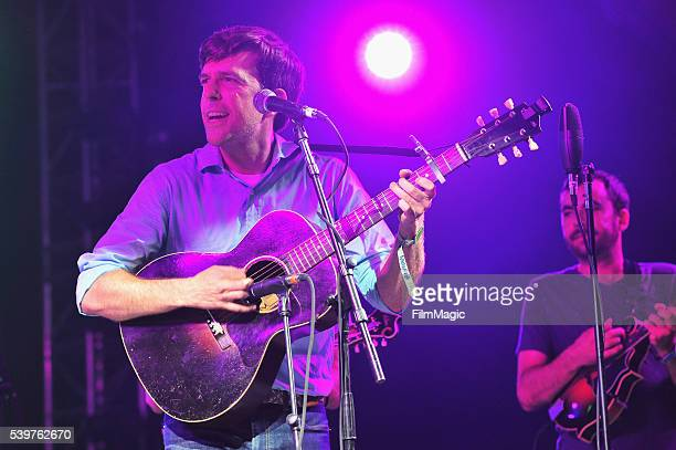 Recording artist Ed Helms performs onstage at The Bluegrass Situation Superjam at That Tent during Day 4 of the 2016 Bonnaroo Arts And Music Festival...