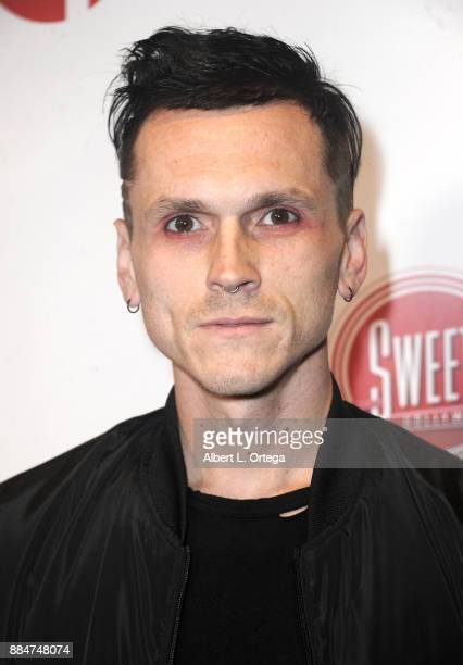 Recording artist Eli James arrives for the TJ Scott Book Launch For 'In The Tub Volume 2' held at Cinematic Pictures Group Gallery on December 2 2017...