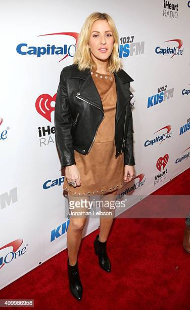 Recording artist Ellie Goulding attends 1027 KIIS FM's Jingle Ball 2015 Presented by Capital One at STAPLES CENTER on December 4 2015 in Los Angeles...