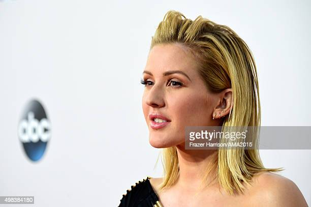 Recording artist Ellie Goulding attends the 2015 American Music Awards at Microsoft Theater on November 22 2015 in Los Angeles California