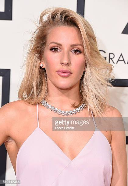 Recording artist Ellie Goulding attends The 58th GRAMMY Awards at Staples Center on February 15 2016 in Los Angeles California