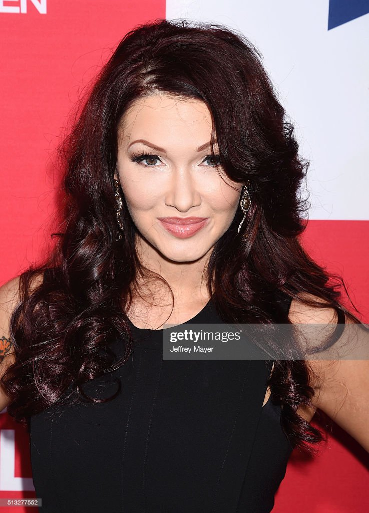 Recording artist Emii attends the premiere of Focus Features' 'London Has Fallen' held at ArcLight Cinemas Cinerama Dome on March 1, 2016 in Hollywood, California.
