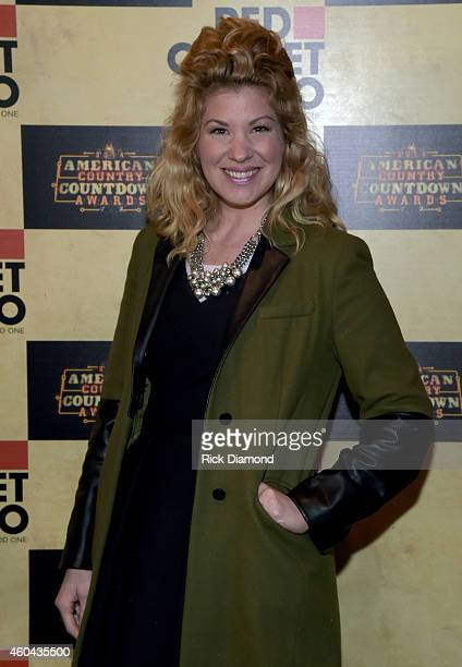 Recording Artist Emily West attends Red Carpet Radio Presented By Westwood One For The American County Countdown Awards at the Music City Center on...