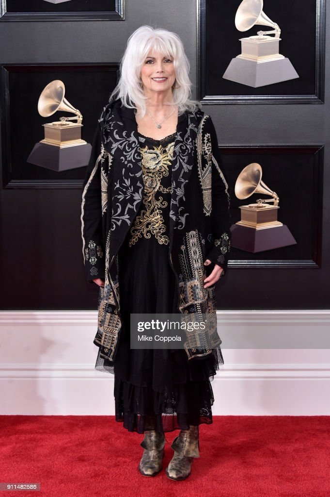 Recording artist Emmylou Harris attends the 60th Annual GRAMMY Awards at Madison Square Garden on January 28, 2018 in New York City.