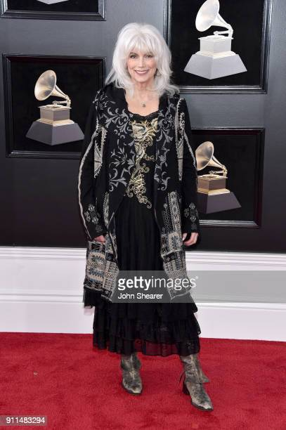 Recording artist Emmylou Harris attends the 60th Annual GRAMMY Awards at Madison Square Garden on January 28 2018 in New York City