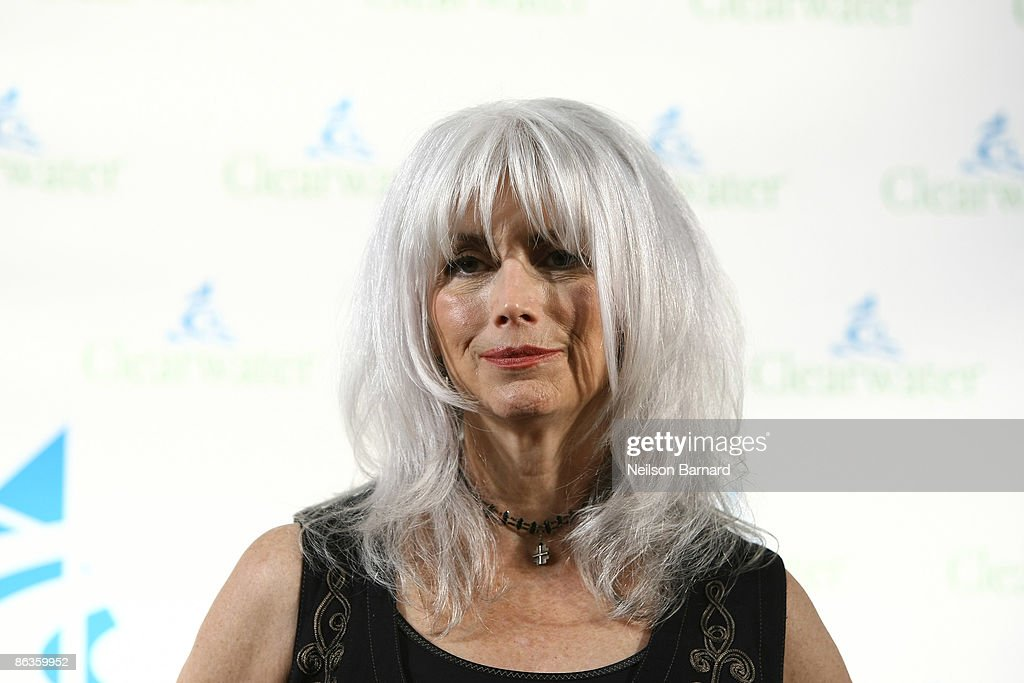 Recording artist Emmylou Harris attends the Clearwater Benefit Concert celebrating Pete Seeger's 90th Birthday at Madison Square Garden on May 3, 2009 in New York City.