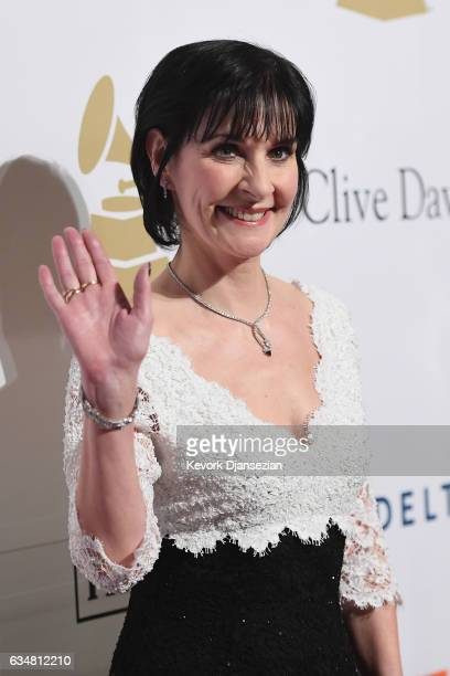 Recording artist Enya attends Pre-GRAMMY Gala and Salute to Industry Icons Honoring Debra Lee at The Beverly Hilton on February 11, 2017 in Los...