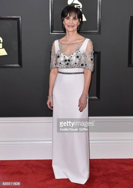 Recording artist Enya attends the 59th GRAMMY Awards at STAPLES Center on February 12, 2017 in Los Angeles, California.