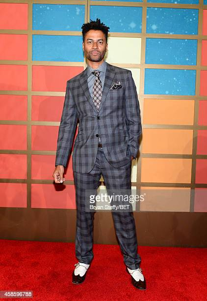 Recording artist Eric Benet attends the 2014 Soul Train Music Awards at the Orleans Arena on November 7 2014 in Las Vegas Nevada