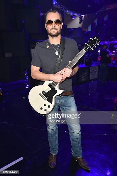 Recording artist Eric Church attends the 2014 iHeartRadio Music Festival at the MGM Grand Garden Arena on September 20 2014 in Las Vegas Nevada