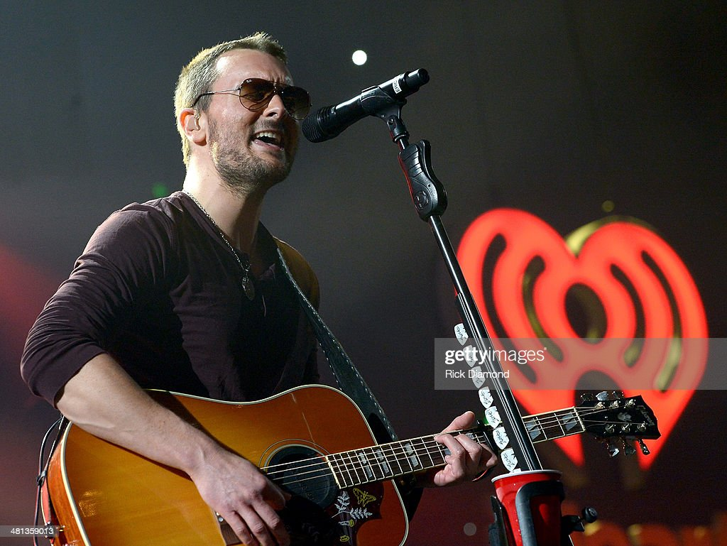 Recording artist Eric Church performs onstage during iHeartRadio Country Festival in Austin at the Frank Erwin Center on March 29, 2014 in Austin, Texas.
